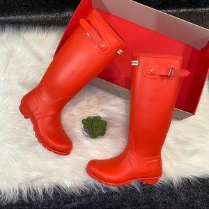 Tall Matte Hunter Boots